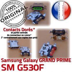 G530F ORIGINAL Prise de souder SM Connecteur à Chargeur Micro SM-G530F Qualité GRAND USB Connector Samsung Galaxy Doré Charge charge PRIME