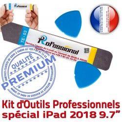 iSesamo Ecran Remplacement Qualité Démontage Tactile iLAME Outils PRO A1893 Vitre Professionnelle KIT Réparation 2018 Compatible iPad A1954