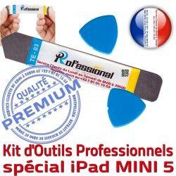 Mini5 Remplacement Professionnelle A2125 KIT iPadMini PRO iLAME Compatible Tactile Qualité 5 A2124 Réparation Outils Ecran iPad Démontage Vitre iSesamo