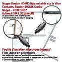 PACK 2019 A2197 A2198 A2200 N Démontage Nappe Bouton KIT Vitre HOME Noire Precollé iPad PREMIUM Qualité Adhésif Réparation Verre Outil Tactile Tablette
