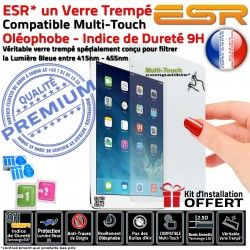 Anti-Rayures UV PRO ESR Ecran Oléophobe Protection Apple Vitre Chocs Multi-Touch Verre Bleue iPad Filtre A1701 Trempé Lumière
