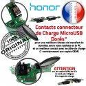 Honor 9X PRO Antenne SMA C Connecteur Microphone Prise OFFICIELLE Qualité Charge Nappe USB ORIGINAL Huawei Chargeur Téléphone