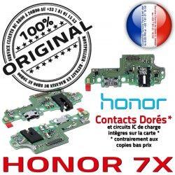 C USB Qualité Chargeur Prise Honor 7X ORIGINAL Nappe Branchement PORT Micro Téléphone Câble Charge OFFICIELLE Antenne Microphone