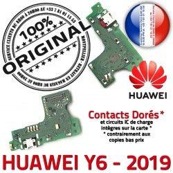 OFFICIELLE Connecteur Qualité ORIGINAL PORT 2019 Antenne JACK Y6 Microphone RESEAU Prise Micro Huawei Nappe Charge Chargeur USB