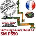Samsung Galaxy TAB A SM-P550 HP Nappe Connecteur Parleur Bouton SM P550 Haut ORIGINAL OFFICIELLE Charge Flex de HOME Chargeur Réparation