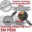 SM-P550 TAB A Jack Ecouteurs P550 Casque MicroUSB Connecteur Charge Nappe Galaxy Chargeur ORIGINAL HOME Bouton Réparation Samsung SM