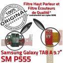 SM-P555 TAB A Jack Ecouteurs Chargeur HOME MicroUSB Connecteur Galaxy Réparation Charge Samsung SM Casque Nappe P555 Bouton ORIGINAL