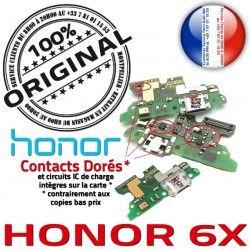 6X Connecteur Antenne OFFICIELLE ORIGINAL RESEAU Qualité Micro Prise Honor Microphone Nappe USB Câble Chargeur Charge Rapide
