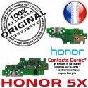 Honor 5X JACK Haut-Parleur PORT Nappe Charge USB Téléphone OFFICIELLE ORIGINAL Câble Microphone Antenne Qualité Chargeur Micro