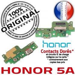 OFFICIELLE Nappe JACK Antenne Chargeur Charge Qualité Micro Connecteur de USB Prise RESEAU 5A Microphone Honor Câble ORIGINAL