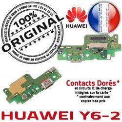Haut-Parleur USB Qualité Chargeur Huawei PORT Microphone JACK Charge Antenne OFFICIELLE Y6-2 Câble ORIGINAL Micro Nappe