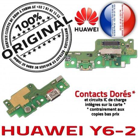 Huawei Y6-2 Prise Alimentation ORIGINAL Microphone OFFICIELLE Qualité Micro Antenne Chargeur Charge USB Nappe PORT Câble