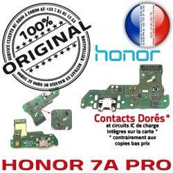 Téléphone 7A PRO Huawei Connecteur Charge Chargeur MicroUSB Nappe PORT OFFICIELLE Prise Microphone Antenne RESEAU Honor ORIGINAL