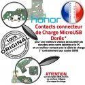 Honor 7A PRO USB Micro Prise Nappe Chargeur RESEAU OFFICIELLE Microphone Connecteur Antenne Charge MicroUSB Câble ORIGINAL JACK de Qualité