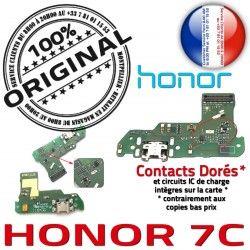 Micro Antenne Charge OFFICIELLE 7C Câble Connecteur Chargeur Microphone ORIGINAL de RESEAU JACK Honor Nappe USB Qualité Prise