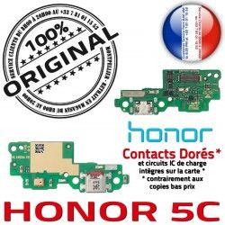 Nappe USB Charge 5C Téléphone Connecteur ORIGINAL Honor PORT Chargeur Antenne Prise Qualité Huawei RESEAU Microphone OFFICIELLE