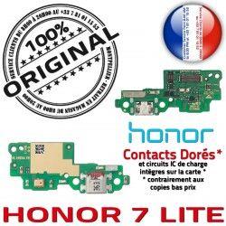 ORIGINAL PORT Antenne USB écouteurs Honor 7 Téléphone Chargeur Microphone OFFICIELLE JACK Audio Nappe LITE Câble Charge Qualité
