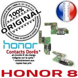 Prise Antenne 8 Type-C Connecteur OFFICIELLE Charge ORIGINAL Chargeur USB Nappe Microphone Honor RESEAU Téléphone Qualité Huawei