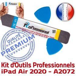 Remplacement Ecran Qualité Vitre 2020 10.9 A2072 PRO Démontage Réparation Tactile Outils iPad Professionnelle iSesamo Compatible inch KIT iLAME