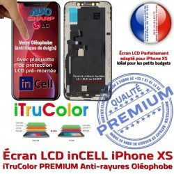 Écran True Réparation LCD Tactile Retina SmartPhone Tone XS PREMIUM inCELL 5,8 Apple HD inch in-CELL Verre Affichage Super iPhone Qualité HDR