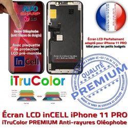 iPhone SmartPhone PREMIUM Tone Cristaux HD inCELL pouces Liquides True Apple in-CELL PRO Super 3D 11 Tactile Affichage Vitre Retina 5,8