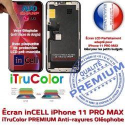 in LCD Apple inCELL 11 Qualité SmartPhone Écran iPhone Retina PRO Affichage PREMIUM Châssis 6,5 Liquides Complet MAX Cristaux