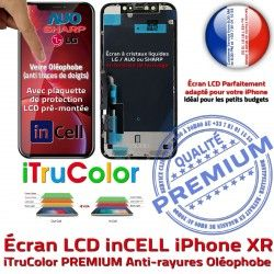 iPhone SmartPhone Écran HDR Tone 6.1 XR True Super Affichage Changer PREMIUM Retina In-CELL LG Vitre inCELL Oléophobe Apple LCD pouces