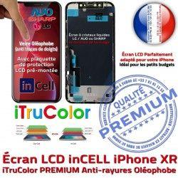 SmartPhone Apple Tone Cristaux 3D XR Écran pouces Liquides iPhone HD 6,1 Affichage Retina inCELL Vitre True LCD Super PREMIUM
