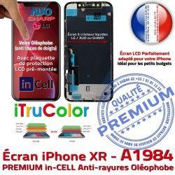HDR Retina Qualité Super 6.1 Apple LCD iPhone Ecran Verre A1984 in PREMIUM in-CELL Touch iTrueColor HD Réparation 3D inCELL Écran SmartPhone Tactile