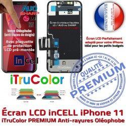 True Écran Affichage 6,1 Cristaux Super Liquides 11 Retina SmartPhone Apple PREMIUM Vitre inCELL Tactile pouces Tone iPhone