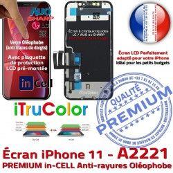 SmartPhone inCELL HD A2221 True Retina iPhone Tone Super 6,1 Vitre Liquides PREMIUM 11 pouces Affichage Tactile Cristaux Apple