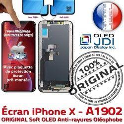 ORIGINAL True Chassis Vitre Super iPhone pouces SmartPhone Châssis Apple sur Affichage X A1902 Tactile Retina soft OLED KIT 5,8 Tone