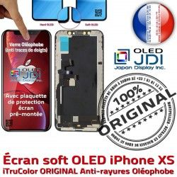 Tone SmartPhone ORIGINAL iPhone True XS Apple HD Affichage Retina Tactile OLED Réparation Verre Écran Multi-Touch soft