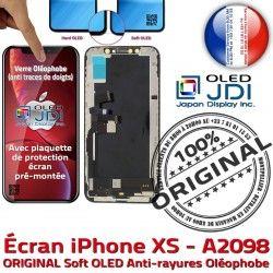 True Verre ORIGINAL soft Affichage A2098 Tone Écran Super XS Apple Vitre Changer pouces 5.8 iPhone OLED Retina LG SmartPhone Oléophobe