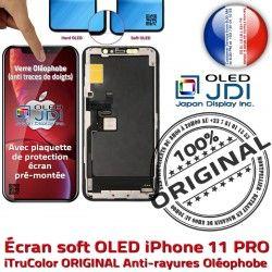ORIGINAL Oléophobe Écran 3D Assembl Multi-Touch 11 OLED Apple Touch Assemblé PRO iPhone Vitre KIT Remplacement Verre Qualité soft Complet