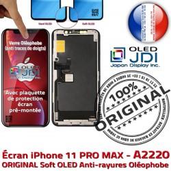 Affichage iPhone Verre SmartPhone MAX ORIGINAL Réparation Retina HD soft True Tone sur Super PRO Tactile A2220 OLED Châssis Écran 11 Qualité