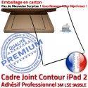 PACK iPad 2 A1395 iLAME Joint N Bouton KIT Apple Tactile Verre Cadre iPad2 Réparation Outils Adhésif Noire Tablette Precollé Vitre HOME Chassis