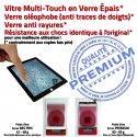 iPad Mini2 A1491 Noir Fixation Tactile Oléophobe Verre Filtre Ecran Caméra Bouton Vitre Tablette Nappe Réparation Adhésif Home Monté