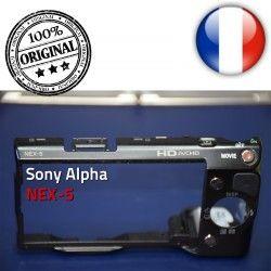 Menu bouton OFF Couvercle Mémoire Sony NEX-5 Coque Alpha Lecture avec Touche Arrière Marche/Arrêt et ON Batterie Carte ORIGINAL