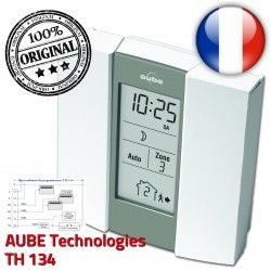 Fil Pilote AUBE zones Auto TH134 Horaire Télécommande Chauffage Téléphonique Programmateur 3 préprogrammé Commande électronique
