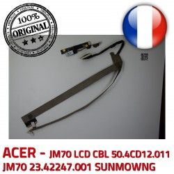 LCD VA-05 Microphone SUNMOWNG 23.42247.001 B1928309309C Nappe CN0314-SN30-OV03-5 50.4CD12.011 CBL ORIGINAL Video ACER JM70 Cable