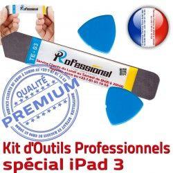 iPad KIT Démontage Outils A1416 Professionnelle Remplacement Compatible A1403 Réparation A1430 3 iPad3 Tactile Qualité iSesamo iLAME Ecran PRO Vitre