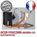 FOXCONN JM70PU-D1 Ventilateur DC5V Radiateur Acer A02 60.4CD48.002 Aspire ORIGINAL F81D