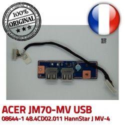 Cable JM70 48.4CD02.011 MV-4 ORIGINAL Module 50.4CD09.011 Ports 94V-0 JM70-MV E89382 MV USB ACER BD Board HannStar J