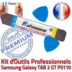 TAB Vitre Compatible Qualité P5110 KIT Ecran Professionnelle iSesamo Galaxy iLAME Réparation Remplacement 2 Démontage Tactile GT Outils Samsung