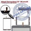 Samsung Galaxy TAB 4 SM-T230 B Prémonté 7 Adhésif Tactile Assemblée PREMIUM Verre Ecran Supérieure TAB4 inch Vitre LCD Blanche T230 SM Qualité