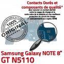 Samsung Galaxy GT-N5110 NOTE C Qualité Doré OFFICIELLE MicroUSB Connecteur Chargeur ORIGINAL Nappe GT Charge de N5110 Contact Réparation