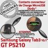 Samsung Galaxy TAB 3 GT-P5210 Ch OFFICIELLE Chargeur Nappe de Dorés Contacts TAB3 MicroUSB Charge Réparation Connecteur Qualité ORIGINAL