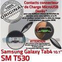 Samsung Galaxy SM-T530 TAB4 Ch SM Qualité T530 Nappe MicroUSB de ORIGINAL OFFICIELLE Contacts Dorés 4 Connecteur TAB Chargeur Charge Réparation