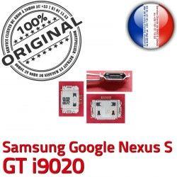 Nexus Micro S i9020 GT de Connector Google C Connecteur Dorés Samsung Flex Chargeur souder Prise Dock Pins ORIGINAL USB à charge